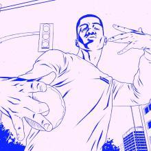 """D. Franklin - What's with our """"D"""". A Illustration, Werbung, Musik und Audio, Motion Graphics, Kino, Video und TV, Animation, Kunstleitung, Design von Figuren, Marketing, Postproduktion, Video, Tongestaltung und Animation von Figuren project by offbeatestudio - 24.05.2017"""