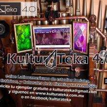 Portadas Abril y Marzo de Kultur∆Teka 4.0 Revista Electrónica . Un proyecto de Diseño editorial de Kulturateka 4.0 - 27.05.2017