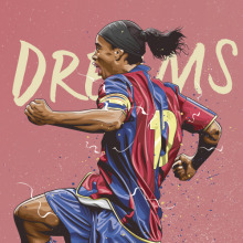 Dreams. A Art Direction, Graphic Design, and Vector Illustration project by Fer Taboada - 05.29.2017