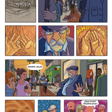 Mi Proyecto del curso: El cómic es otra historia - Donde duerme tu memoria. Um projeto de Ilustração e Comic de Sergio R. Cerón - 30.05.2017