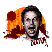 Mi Proyecto del curso: Retrato ilustrado con Photoshop | Dexter. Un proyecto de Ilustración de Nicolás Romero - 06.06.2017
