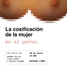 POSTER — La cosificación de la mujer en el porno. A Graphic Design project by Sara Marques - 06.07.2017