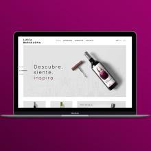BCN Mediterranean Wine. Un proyecto de Diseño Web de Maria Vicente Cordoba - 09.05.2017