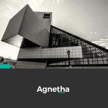 Proyecto MASTER GRAPHIC DESIGN (AGNETHA). Um projeto de Br, ing e Identidade, Design editorial, Design gráfico e Web design de NEOLAND - 10.06.2017