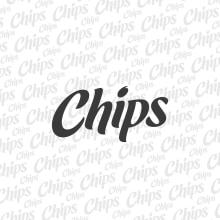Chips Logotype. Un proyecto de Br, ing e Identidad, Lettering y Tipografía de Andres Ramirez - 22.06.2017