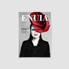 ENUIA · MAGAZINE. A Verlagsdesign, T und pografie project by Ane Vidaurrazaga - 22.02.2017