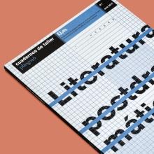 Cuadernos de taller. Pequeña revista literaria de corte experimental.. Un progetto di Progettazione editoriale di David Kimura - 15.01.2011