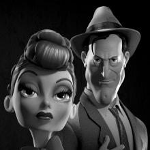 Rigging - Lucy & Kirk. Um projeto de 3D, Rigging e Animação de personagens de Pablo Emmanuel De Leo - 08.03.2015