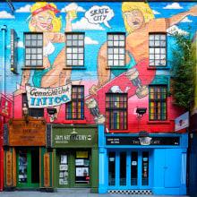 Fotografía arquitectónica y urbana - DUBLIN. A Design, Architecture, Industrial Design, and Street Art project by Juan Menendez - 07.17.2017