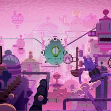 GUMMY GAS CRISIS. Un progetto di Illustrazione, 3D, Animazione, Direzione artistica, Character Design , e Animazione di personaggi di Blirp - 18.07.2017