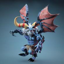 Blue Monster . Um projeto de 3D, Animação, Design de jogos e Animação de personagens de Marc Bupe - 25.07.2017