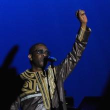 Youssou N'Dour en Etnosur 2017. Un proyecto de Fotografía de Darío Zárate - 25.07.2017