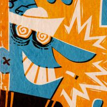 Cartel Torrevieja Blackfun. A Design, Illustration, Advertising, Music, Audio, Art Direction, and Graphic Design project by Pablo Lacruz - 07.25.2017