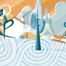Revista Descobrir. Un proyecto de Ilustración de Albert Pinilla Ilustrador - 08.06.2017