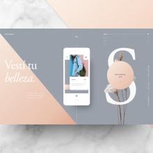 Dirección de Arte Digital. Um projeto de Direção de arte, Design gráfico, Design interativo e Web design de Adrián Somoza - 17.08.2017