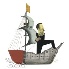 RONDA IBERIA. Cervantes. Un proyecto de Diseño e Ilustración de anne - 01.02.2016