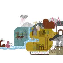 EXCELENTE IBERIA. Territorios Míticos. Un proyecto de Diseño e Ilustración de anne - 01.01.2017