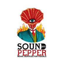 Sound and Peppers, logotipo para productora de musica. A Br, ing, Identit, and Collage project by Zoveck Estudio - 08.23.2016