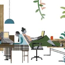 CEO MAGAZINE. Will the fontech kill the banks?. Un proyecto de Diseño e Ilustración de anne - 01.07.2016