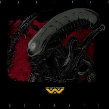 Alien . A Design, Illustration, Kino, Video und TV, Grafikdesign und Kino project by Pedro Pérez Mendoza - 03.09.2017