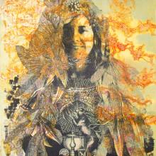 Serie en collagrafía Retratos de inconsciente. A Illustration, Crafts, Fine Art, Collage, and Paper Craft project by Zoveck Estudio - 05.02.2016
