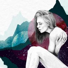 Spacewomen. Un proyecto de Ilustración, Dirección de arte y Bellas Artes de Lucía Paniagua - 06.09.2017