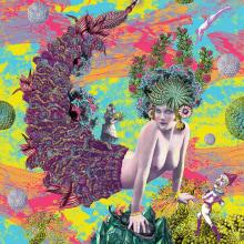 Imagen en serigrafía la sirena. A Illustration, Crafts, Fine Art, and Collage project by Zoveck Estudio - 09.11.2016