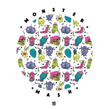*Monster Mash* - Marca ficticia. A Design, Illustration und Erweiterungsentwicklung project by Luc Bueno Gléz - 18.09.2017