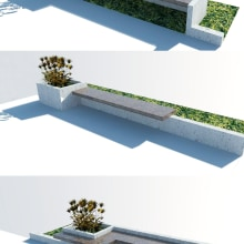 Mobiliario urbano. Un proyecto de Arquitectura y Diseño de muebles de Ichik Le - 01.06.2017