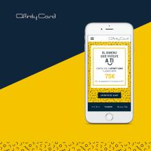 MINISITE - EDQV 2017 - Affinity Card. Un proyecto de Dirección de arte, Diseño gráfico y Diseño Web de María Criado - 20.09.2017