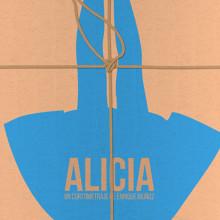 """Diseño de cartel y gráfica para el cortometraje """"Alicia"""". Um projeto de Design editorial, Design gráfico e Cinema de Diana Creativa - 25.09.2017"""
