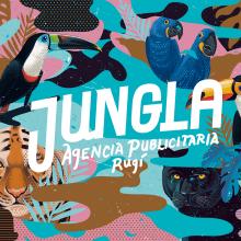 J U N G L A | Agencia de publicidad. Un proyecto de Diseño, Ilustración y Diseño gráfico de German Gonzalez Ramirez - 25.08.2015