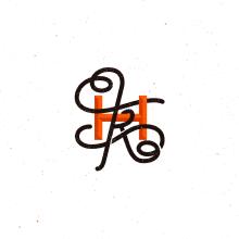 Mi Proyecto del curso: Diseño de monogramas con estilo KAME HAUSU. Un proyecto de Ilustración y Diseño gráfico de Dario Nuñez - 30.09.2017