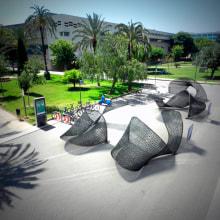 EXPANSIÓN DE IDEAS. Arquitectura efímera. Un proyecto de Diseño, 3D, Arquitectura, Diseño industrial y Diseño de producto de Pablo Lardón - 08.06.2016