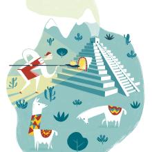 Illustración de Albert Pinilla para la revista PAN. Un proyecto de Diseño e Ilustración de Albert Pinilla Ilustrador - 08.10.2017