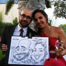Caricaturas en vivo para eventos ( 5 minutos). Un proyecto de Ilustración, Animación, Artesanía, Bellas Artes, Cómic y Arte urbano de daniel_verdugo_alia - 09.10.2017