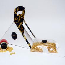 envase contenedor de dos producto uno solido y otro liquido. Un proyecto de Diseño de producto de Mirta Julia Adami - 10.10.2017