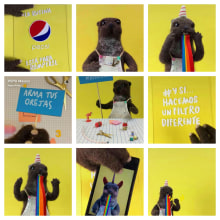 Proyecto nutria para Flaminguettes. A Animation, Crafts, To, Design, and Character animation project by Carolina Alles - 10.12.2017