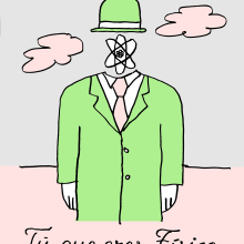 Tú que eres físico. Um projeto de Comic de Alberto - 16.10.2017