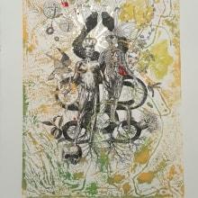 La Dualidad dentro de la Unidad: Técnicas experimentales de ilustración: de lo digital a lo artesanal. Un proyecto de Ilustración, Pintura y Collage de Cristian Moro - 19.09.2017