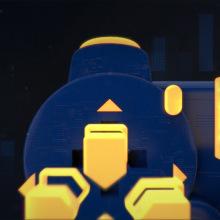 GRAPHIC PACKAGE - GAMESCOM_2017. Un proyecto de Motion Graphics, 3D y Animación de Guillermo Perez - 22.10.2017