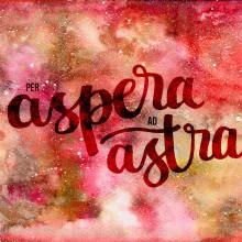 Per Aspera Ad Astra. Un proyecto de Caligrafía, Ilustración y Lettering de Alicia Mjz - 22.10.2017