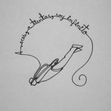 Reto de Dibujo de 30 Días - Mayo 2015 ( Dibujos realizados con una sola línea). Un projet de Illustration de Raquel Consuelo Caldera Contreras - 30.05.2015