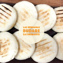 """Brand - Las Hermanas Budares - Food Service """"Arepas"""". A Br, ing, Identit, and Graphic Design project by Beatriz Salvatierra - 01.08.2017"""