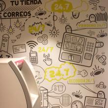 Tu Tienda Correos. Um projeto de Ilustração, Br, ing e Identidade, Design gráfico, Infografia e Ilustração vetorial de Tianju Duan - 05.10.2014