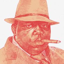 The Notorious B.I.G.. Un proyecto de Bellas Artes e Ilustración de Jon Ander Torres - 27.10.2017