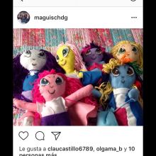 Muñecas artesanales. A 3D, and Character Design project by Magui Sagastume - 10.29.2017