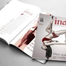 Indie, Revista de danza alternativa. Um projeto de Design, Design editorial e Design gráfico de Melisa Toloza - 31.10.2017