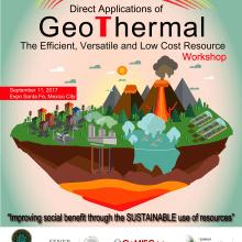 Cartel para Workshop de Geotermia en México . Un projet de Illustration de Morgan Mariana Guido - 03.08.2017