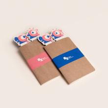 Book Marathon. A Br, ing und Identität, Design von Figuren, Bildung, Grafikdesign, Verpackung, Produktdesign, Naming und Vektorillustration project by azul recreo - 07.11.2017